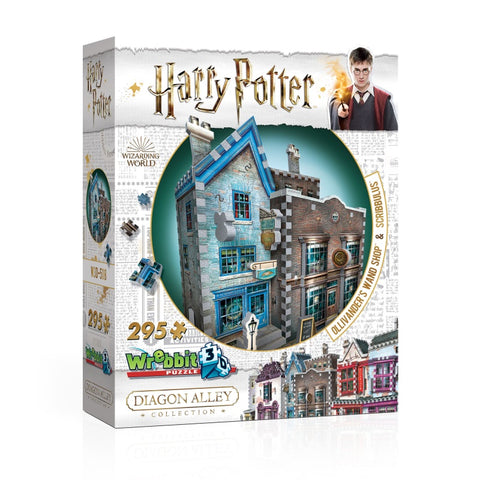 Wrebbit W3D509 Harry Potter Diagon Alley Collection 3D Puzzle : Quidditch Supplies