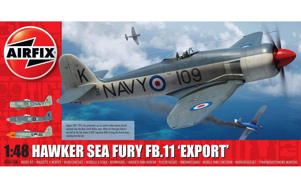 "AIR06106 Airfix 1/48 Hawker Sea Fury FB.11 ""Export"""