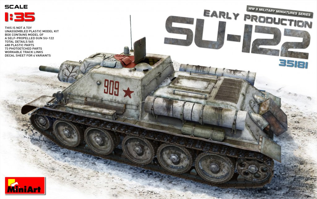 MIN35181 Miniart 1/35 SU-122 Early Production