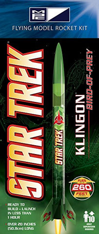 MPC RKT005 Klingon Model Rocket