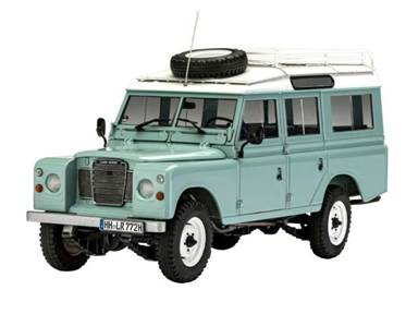 REV4498 Revell 1/24 Land Rover Series III 109