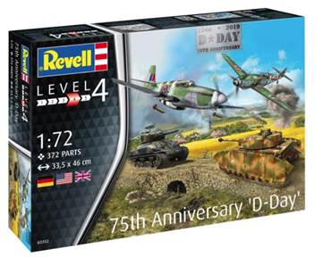 REV03352 Revell 1/72 75th Anniversary D-Day