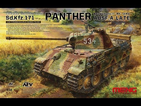 Meng TS-035 1/35 Panther Ausf. A Late