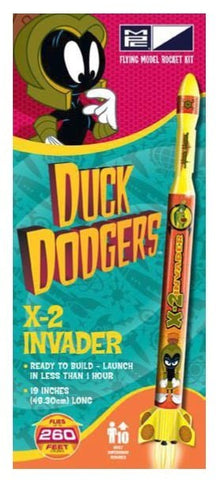 MPC RKT008 Duck Dodgers Marvin the Martian's X-2 Invader Model Rocket