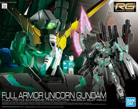 BAN5055586 RG 1/144 Full Armour Unicorn Gundam