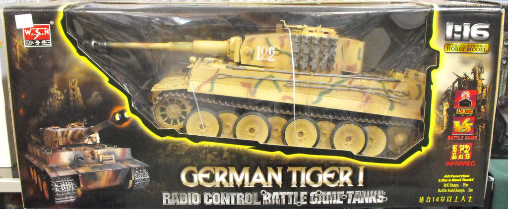 TRU00808 WSN 1/16 German Tiger 1 Radio Control Battle Tank