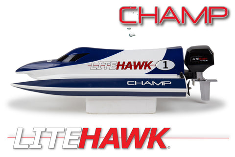 LH-20002 Litehawk Champ R/C Electric Speed Boat
