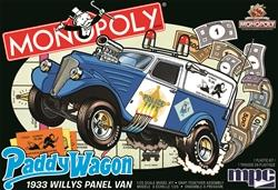 MPC924 MPC 1/25 Monopoly Paddy Wagon 1933 Willys Panel Van
