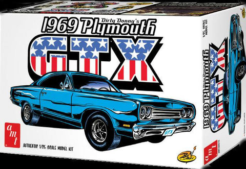 AMT AMT1065 1/25 Dirty Donny's 1969 Plymouth GTX