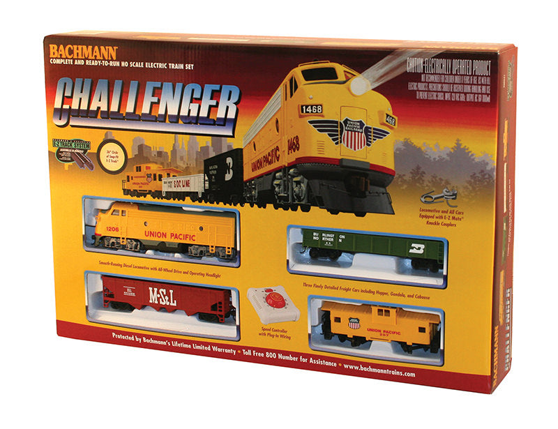 BAC00621 Bachmann HO Challenger Train Set