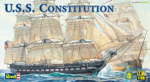 Revell REV0398 1/96 USS Constitution