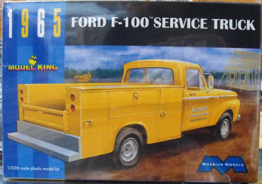 MOE1235 Moebius (Model King) 1/25 1965 Ford F-100 Service Truck