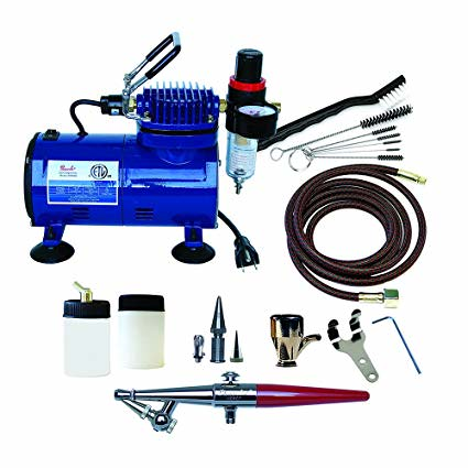 PL248 Paasche H-100D Airbrush and Compressor Combo