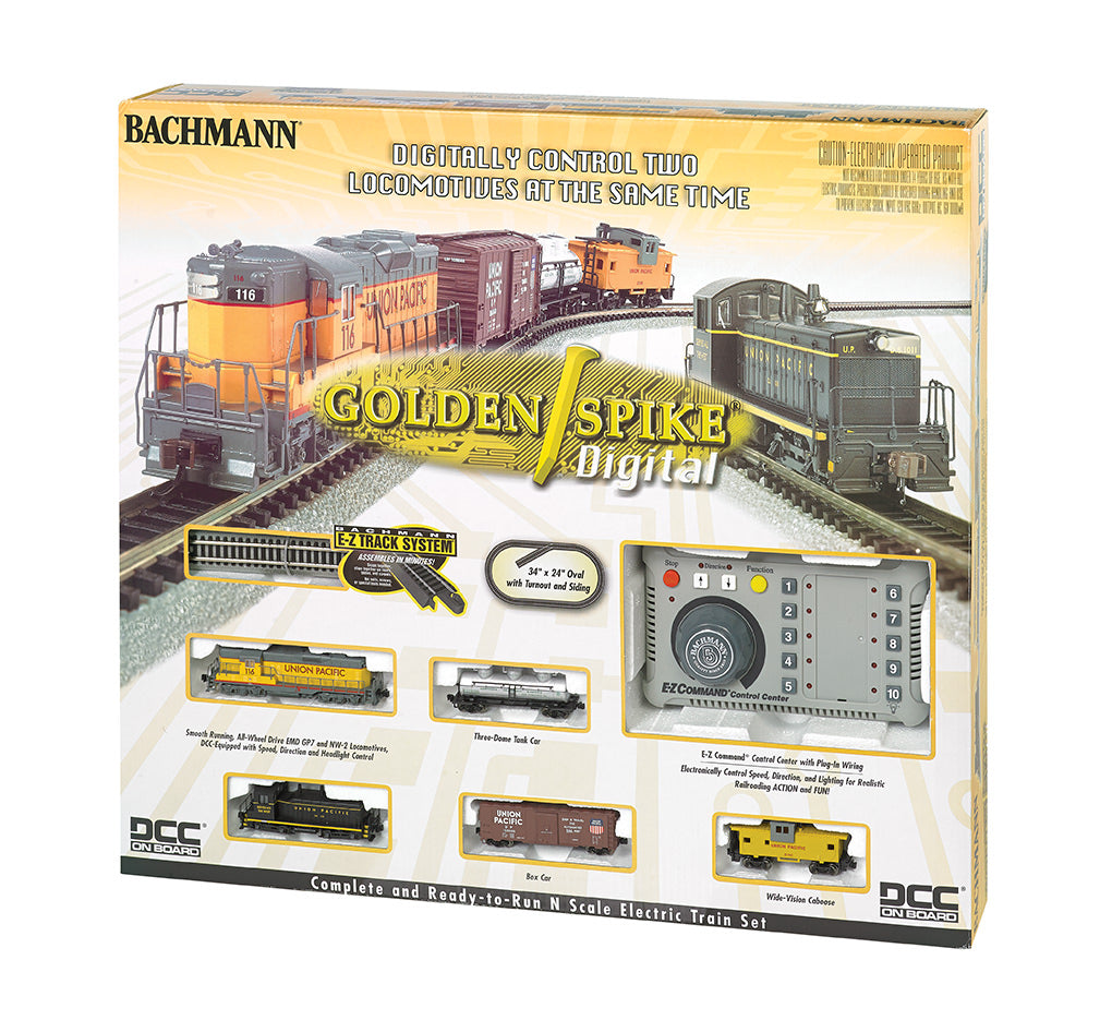 BAC24131 Bachmann N Golden Spike Digital Train Set