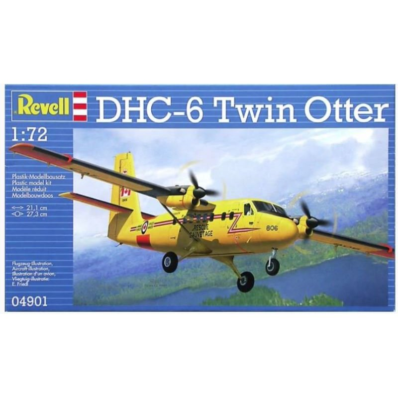 REV04901 Revell 1/72 DHC-6 Twin Otter