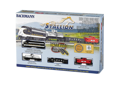 BAC24025 Bachmann N The Stallion Train Set
