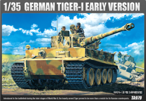 ACA13239 Academy 1/35 Tiger 1 Early with Interior