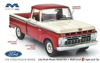 MOB1233 Moebius (Model King) 1/25 1966 Ford Short Bed Styleside Pickup