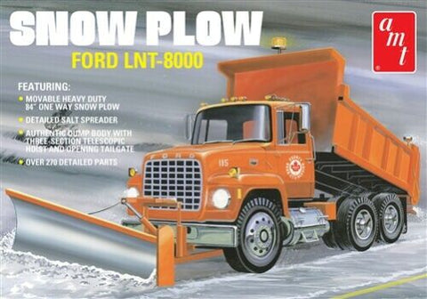AMT1178 AMT 1/25 Ford LNT-8000 Snow Plow