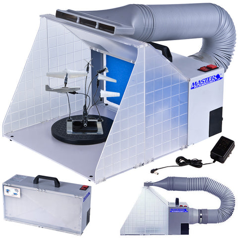 Master Airbrush 8420DCK Folding Spray Booth