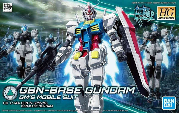 BAN5055706 HG Build Divers 025 GBN-Base Gundam