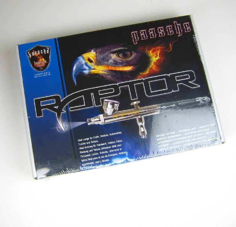 Paasche RG-1S Raptor Gravity Feed Double Action Airbrush