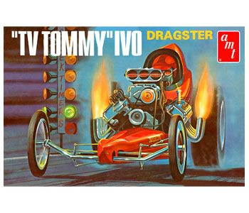 AMT621 AMT 1/25 TV Tommy Ivo Dragster