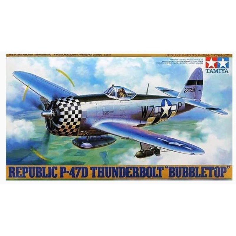 "TAM61090 1/48 Republic P-47D Thunderbolt ""Bubbletop"""