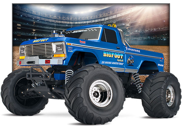 TRA360841 Traxxas Classic Bigfoot RTR R/C Monster Truck