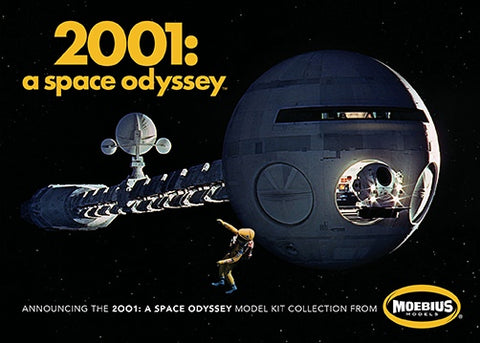 Moebius Models MOE20013 1/144 2001 Space Odyssey Discovery XD-1