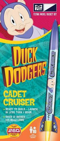 MPC RKT009 Duck Dodgers Porky Pig's Cadet Cruiser Model Rocket