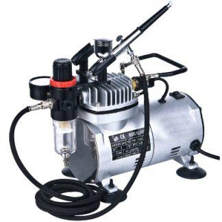 AS18K-2 Vigiart  Airbrush and Compressor Combo