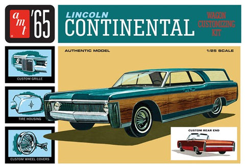 AMT1081 1/25 '65 Lincoln Continental