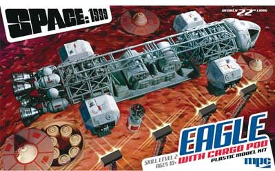 MPC MPC838 1/48 Space 1999 Eagle Transport w/Cargo Pod