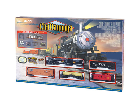 BAC00626 Bachmann HO Chattanooga Train Set