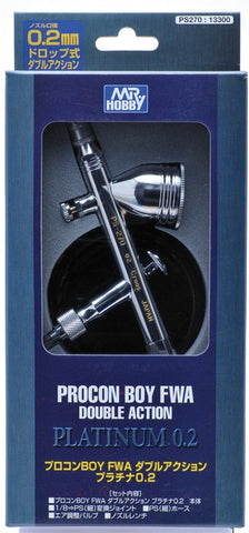 GSPS270 Procon Boy FWA 0.2 Dougle Action Gravity Feed Airbrush