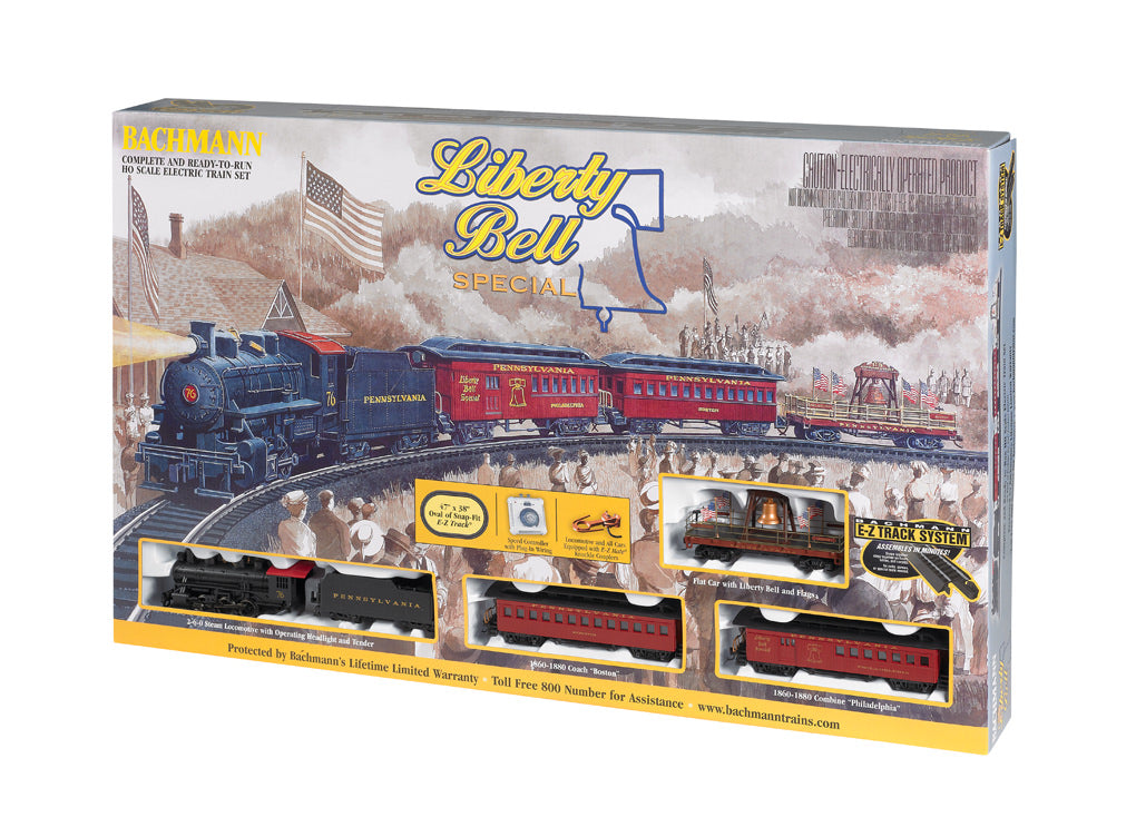 BAC00711 Bachmann HO Liberty Bell Train Set