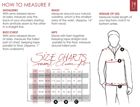Mens -size-chart