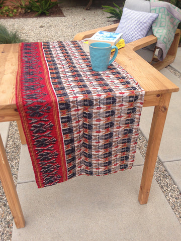 Cotton Kantha Tablerunner