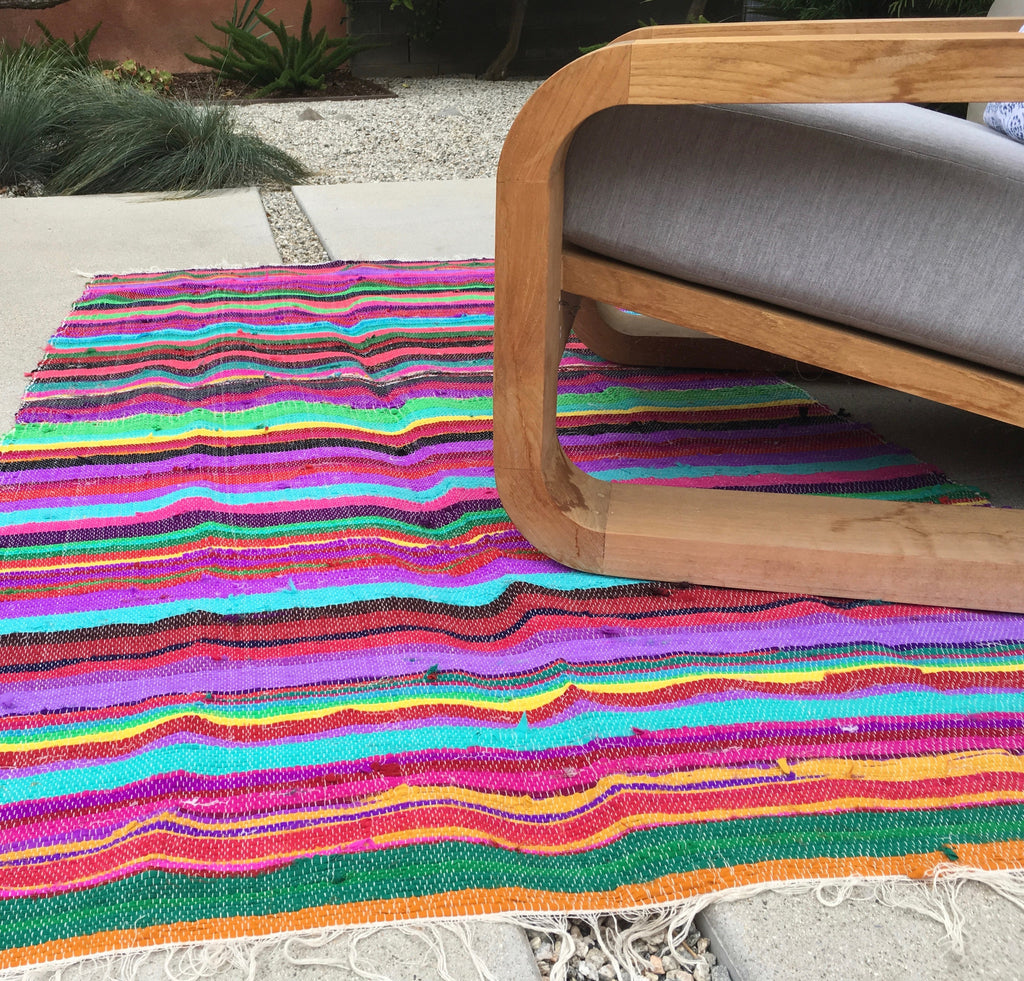 Colorful Area Rug - Thirteen