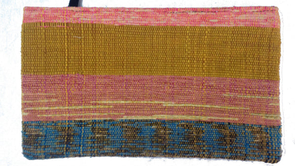 Repurposed Sari Rug Clutch