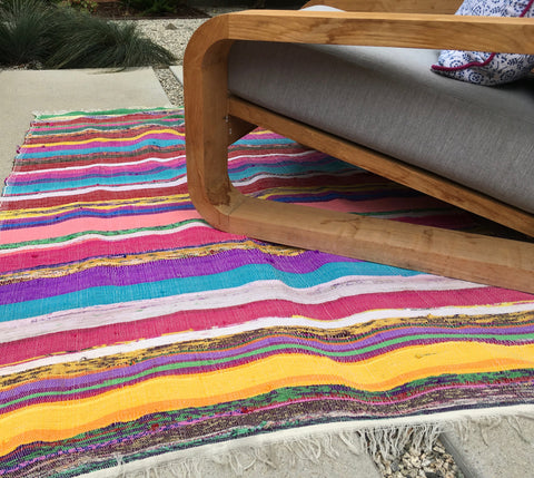 Colorful Area Rug - Fifteen