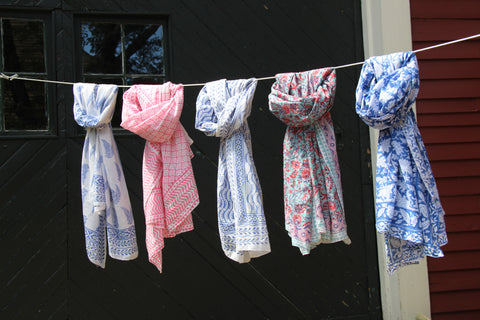 Cotton Scarves and Sarongs