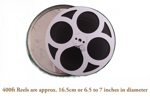 400ft Super/Standard 8mm Cine Film Transfer