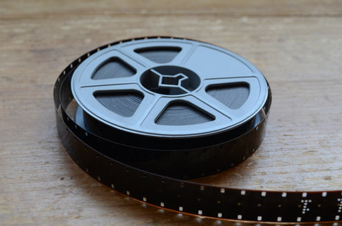 50ft 16mm cine film transfer