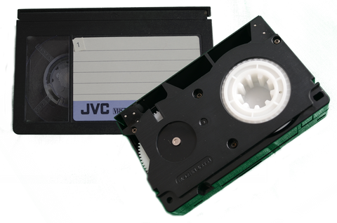 VHS-C (Compact VHS) tape Transfer