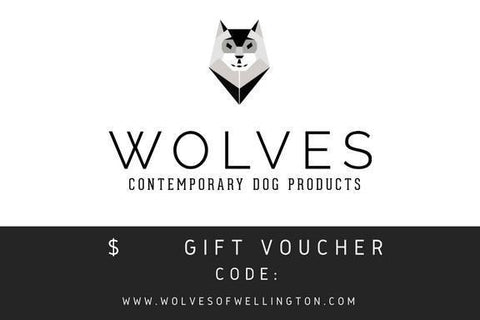 Gift Voucher Gift Card Wolves of Wellington