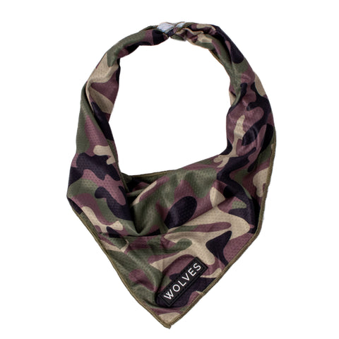 Camo Mesh Bandana Bandana Wolves of Wellington