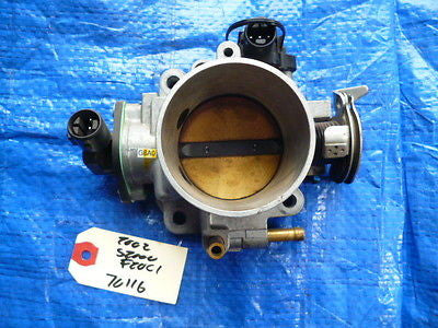 00-03 Honda S2000 62mm throttle body assembly OEM engine motor F20C1 VTEC