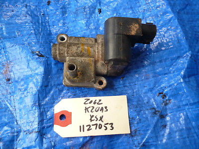 02-06 Acura RSX K20A3 idle air control valve motor IACV OEM engine K20A 1127053